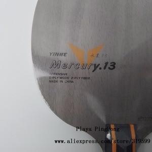 Image 4 - Yinhe Y13 Mercury.13, для настольного тенниса, из углеродного волокна, с петлей + лезвием для настольного тенниса, ракетки для пинг понга, для игры в пинг понг