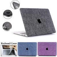 2019 nouveau Denim étui pour Macbook pour ordinateur portable Air 13 Pro Retina 11 12 13.3 15 15.4 nouvelle barre tactile pour Macbook nouveau Pro 13 A2159 manchon