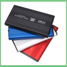 25 inch SATA to USB 30 HDD SSD 2TB 4TB Hard Disk Drive Box External HDD Enclosure Full Mesh