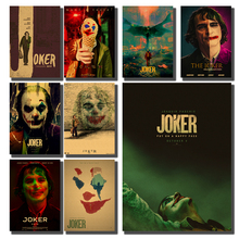 2019 latest clown movie poster vintage poster kraft paper poster retro poster bar bedroom decoration painting print свитшот print bar 28 дней спустя