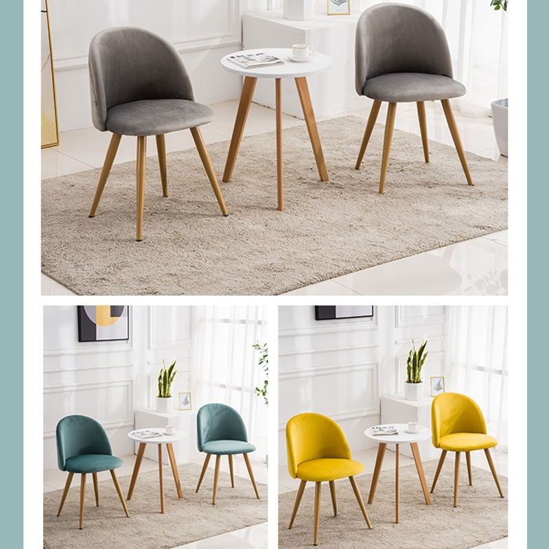 Yulai Cegar Xuan Northern European-Style Dining Chair Modern Minimalist Household Backrest Dining Chairs Coffee Shop Conference