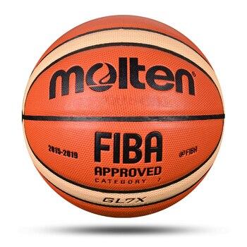 Профессиональный Мужской баскетбольный мяч PU Материал Размер 7/6/5 открытый Крытый матч обучение Баскетбол Высокое качество Женщины baloncesto