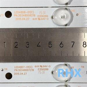 Image 5 - 10 unidades/lote para LE48M33S retroiluminación LCD strip LED48D8 ZC14 01(C) LED48D7 303480082