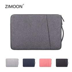 Capa para laptop 13.3/14.1/15.6 polegadas, para notebook, macbook air pro, proteção à prova d'água, para laptop manga de linha