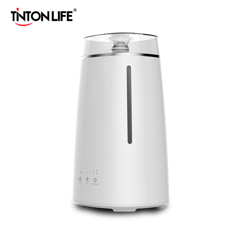 Air Humidifiers Atomizer Visible Water Aromatherapy Diffusers 3.5L Capacity Quiet LED Light Night USB Humidifier For Home Office
