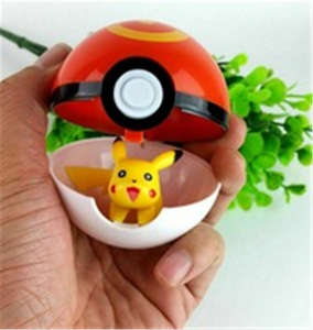 Toy Poke-Ball Pikachu Gift Cosplay Creative with 9x Pop-Up Kids Hot 13-Style