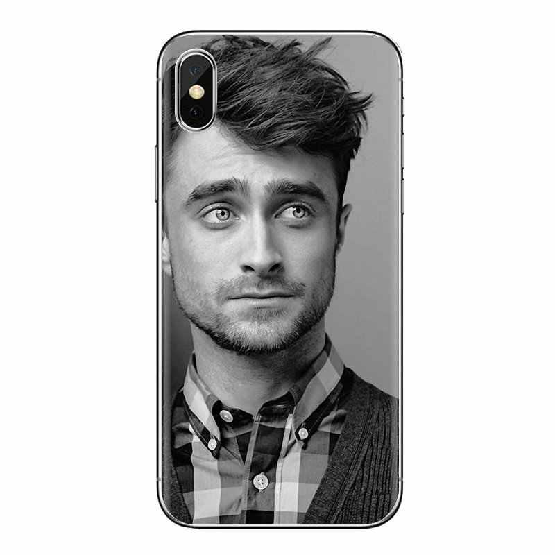 Daniel Radcliffe ince beyefendi silikon kapak için Huawei Nova 2 3 2i 3i Y6 Y7 Y9 başbakan Pro GR3 GR5 2017 2018 2019 Y5II Y6II