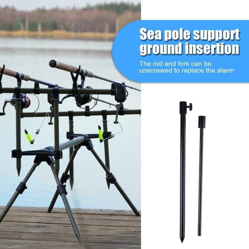 Carp Fishing Bank Stick Adjustable Aluminum Bandstick Fishing 48-75cm