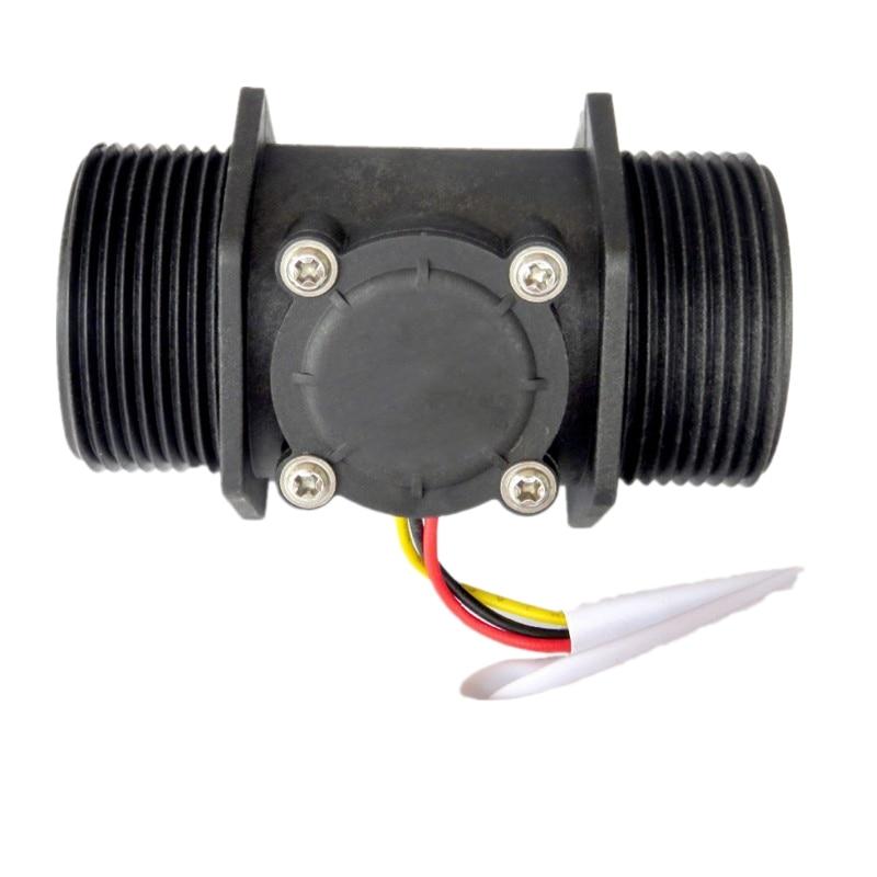 Dn40 1.5 Inch Turbine Flowmeter Water Flow Sensor Flow Meter Flow Rate Control 5~150L/Min