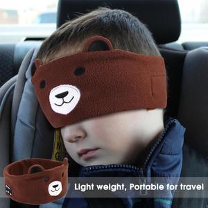 Image 5 - Kids Headphone Wireless Bluetooth 5.0 Earphone Sleeping Eye Mask Cartoon Soft Music Headset with Microphone for Children