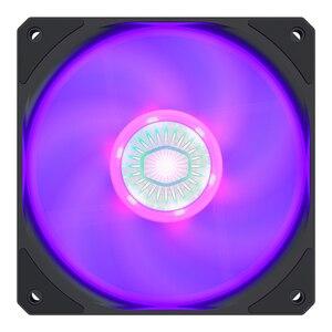 Кулер Master SickleFlow 120 RGB, вентилятор для корпуса ПК, 12 В/4 pin RGB ШИМ вентилятор, тихий кулер для процессора, охлаждение воды, замена вентилятора