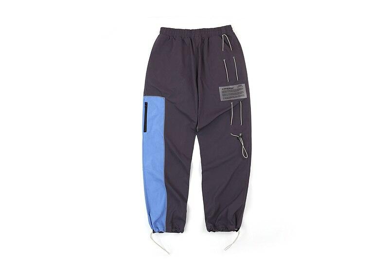 2019 ACW A-COLD-WALL couleur bloquant femmes hommes Joggers pantalon Hiphop Streetwear pantalon décontracté homme pantalons de survêtement ACW PALM ANGELS brouillard