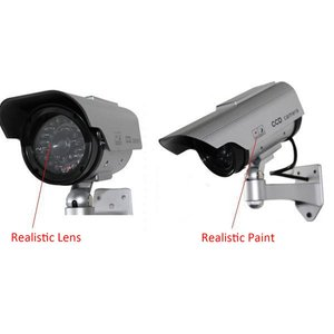 Светодиодная камера видеонаблюдения на солнечной энергии|Камеры видеонаблюдения|   | АлиЭкспресс