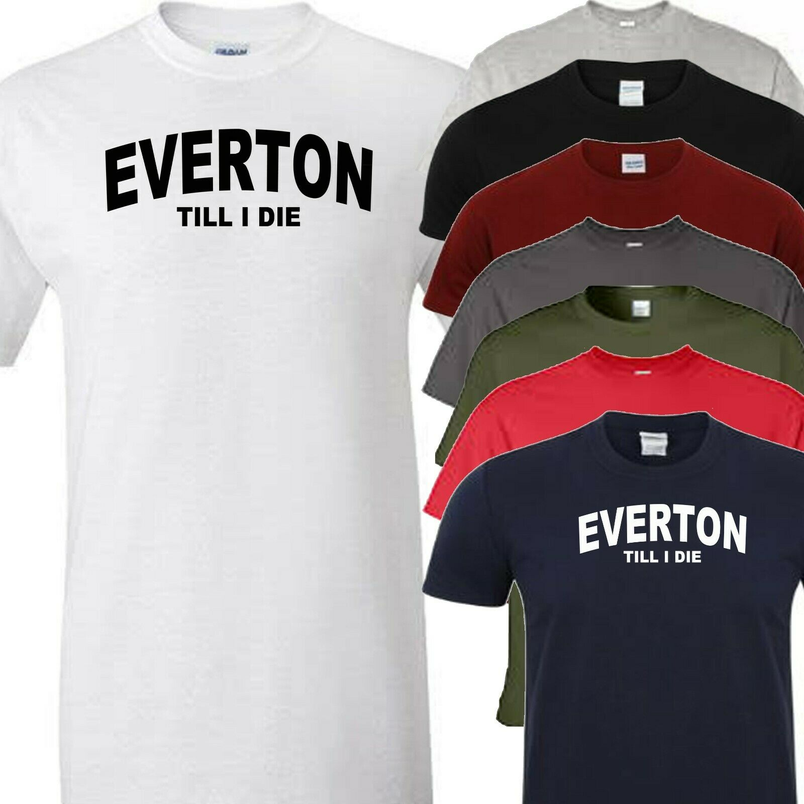 Everton Me and My Dad Grandad Love Football fan White Pull over baby Bib