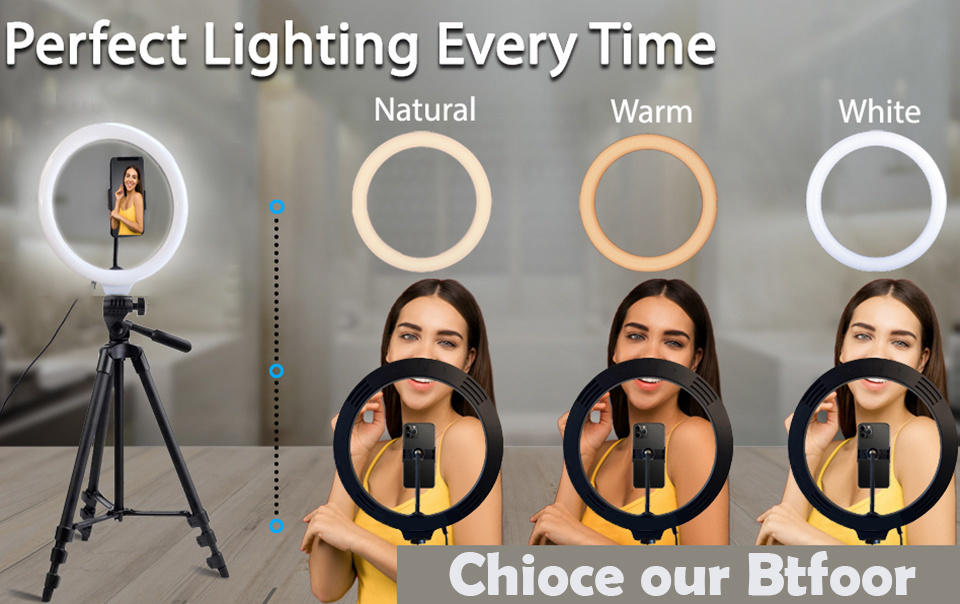 H620f549ca8214f129a9d0d0a33dfa912i - Selfie Ring Light Phone Remote Control Lamp26cm Photo Ring light Led  Photography Lighting With Tripod Stand Holder Youtube Video