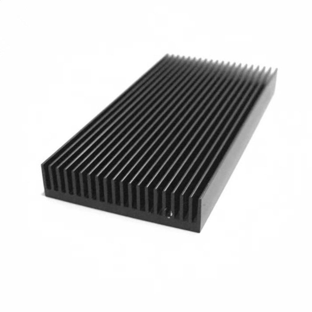 1 шт. алюминиевый радиатор со светодиодом радиатор 48x11-100мм теплоотвод алюминиевые профили алюминиевый цветной радиатор шасси