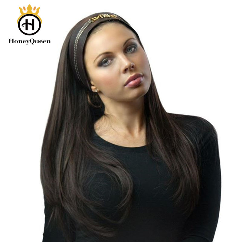 Sports Wigs Kosher Jewish Wig Double Drawn Human Hair Wigs For Women 100% European Hair Pony Wig Honey Queen Remy
