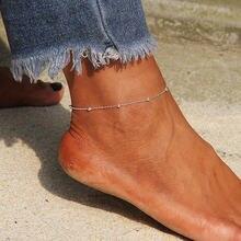 Браслет на ногу ustar женский из нержавеющей стали украшение