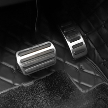 For  Volvo S40 V40 C40 C30 AT car pedal gas foot rest stainless modified pad non slip performance aluminium fuel цена