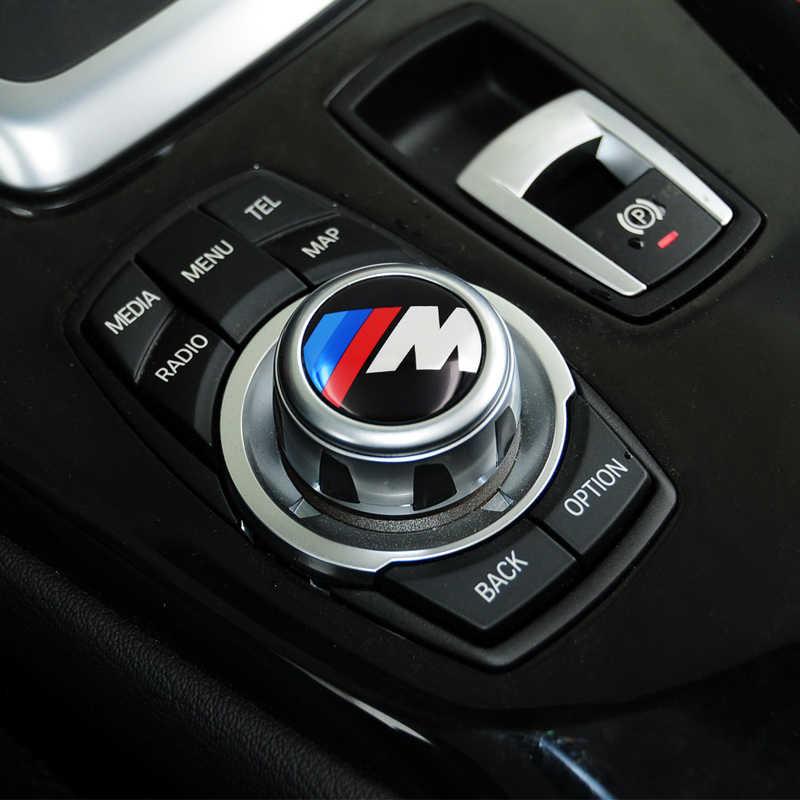 1pcs M Desempenho Interior Do Carro decoração Do Carro Adesivo Para bmw M Adesivo X1 X3 X4 X5 X6 e46 e90 e39 e60 f10 f20 Carro acessórios Do Carro