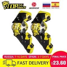 Scoyco-rodillera para motocicleta, equipo Protector de rodilla para hombre, Protector de rodilla, equipo para Motocross, Joelheira