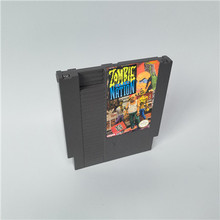 Zombie Nation  For 8 Bit Game Console 72 Pins Game Cartridge Card