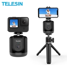 TELESIN – cardan de prise de vue Selfie intelligent, Rotation à 360 °, suivi automatique des objets du visage, pour Smartphone GoPro OSMO Action, caméra Vlog Live