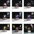 K9 Crysal Pokemon мяч Элегантный Pokemon Go мяч маленький размер 50x50 мм Хрустальный шар с черной линией