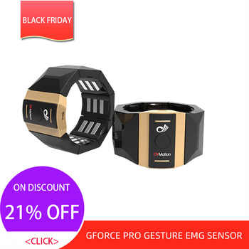 Gforce PRO Gesture EMG sensor Armband Single Control EMG RAW data available for windows and Android developement - Category 🛒 Consumer Electronics