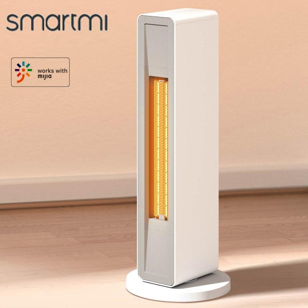 Электрический нагреватель Youpin Smartmi, зимний керамический нагреватель PTC, воздушный вентилятор, управление через приложение, таймер с пультом...