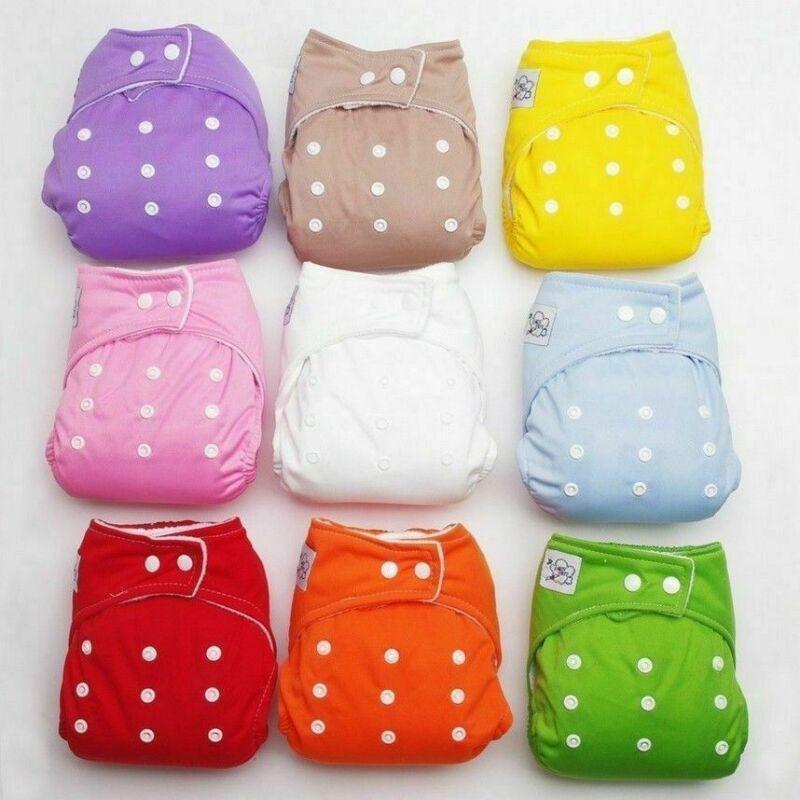 Couches réutilisables réglables pour bébés | Couches en tissu pour garçons et filles, couvertures douces, napperons lavables, livraison directe