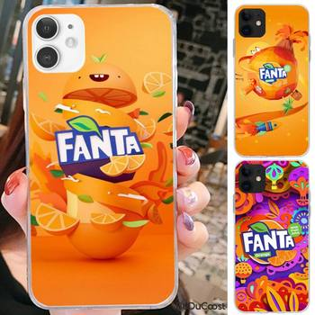 Reall Fanta Drink Orange Phone Case For iPhone 7 8 Plus X XS Max XR Coque Case For iphone 5s SE 2020 6 6s 11Pro image