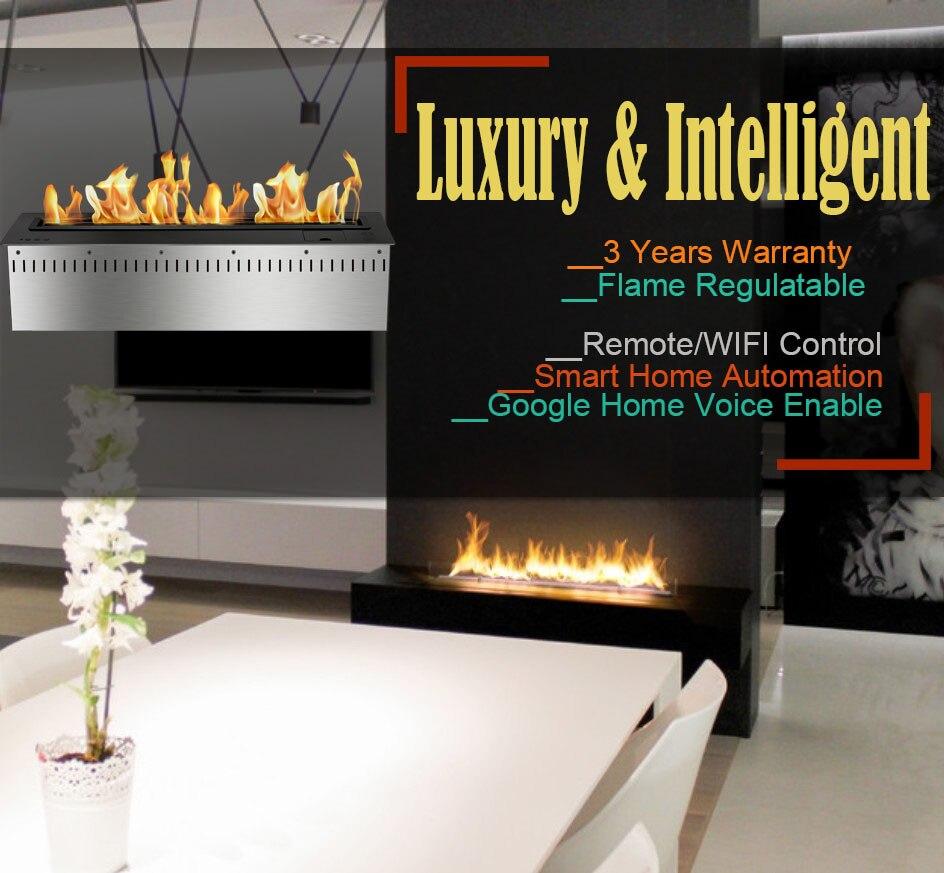 Inno Living 24 Inch Bio Fireplace Indoor Decorative Fire