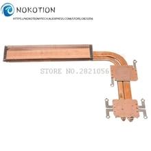 NOKOTION 860348-001 аккумулятор большой емкости радиатора Вентилятор охлаждения для HP 15-AX 15-AX033DX 15-BC200 15-BC299 TPN-Q173 радиатора