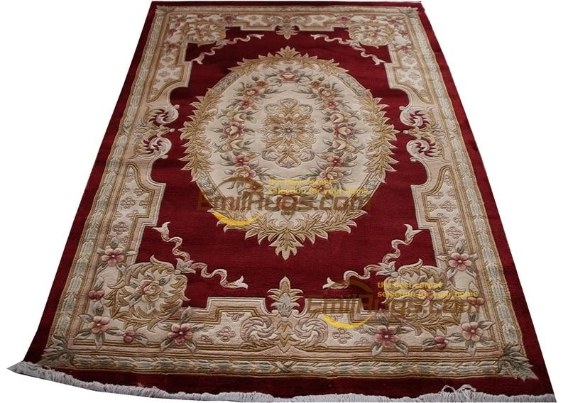 Décoration de la maison tapis grand tapis Antique fait main décoration de la maison tapis carré tapis modernisme laine tricot tapis