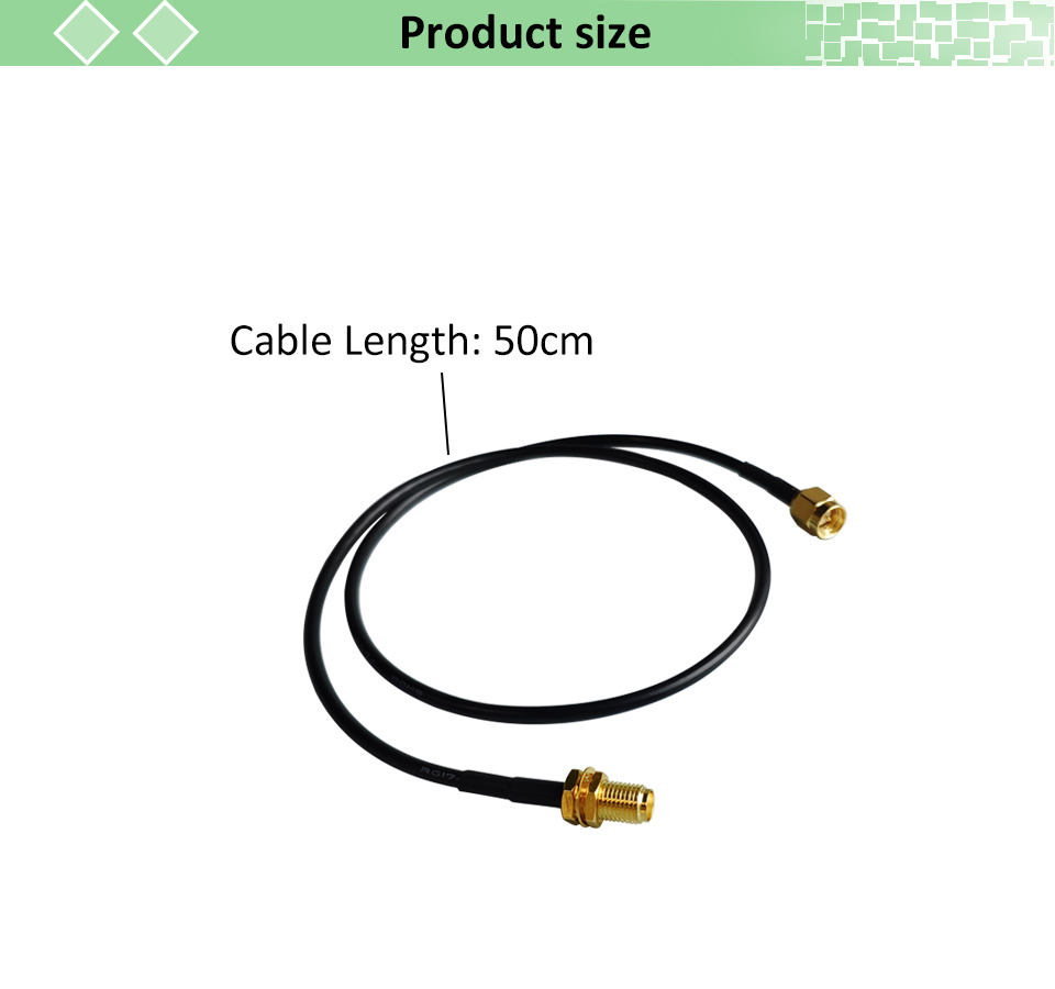 Cable Coaxial lot Extension 3