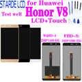 Для huawei Honor V8 KNT-AL20 KNT-UL10 KNT-AL10 KNT-TL00 KNT-TL10 ЖК-дисплей Дисплей + кодирующий преобразователь сенсорного экрана в сборе с рамкой Replac