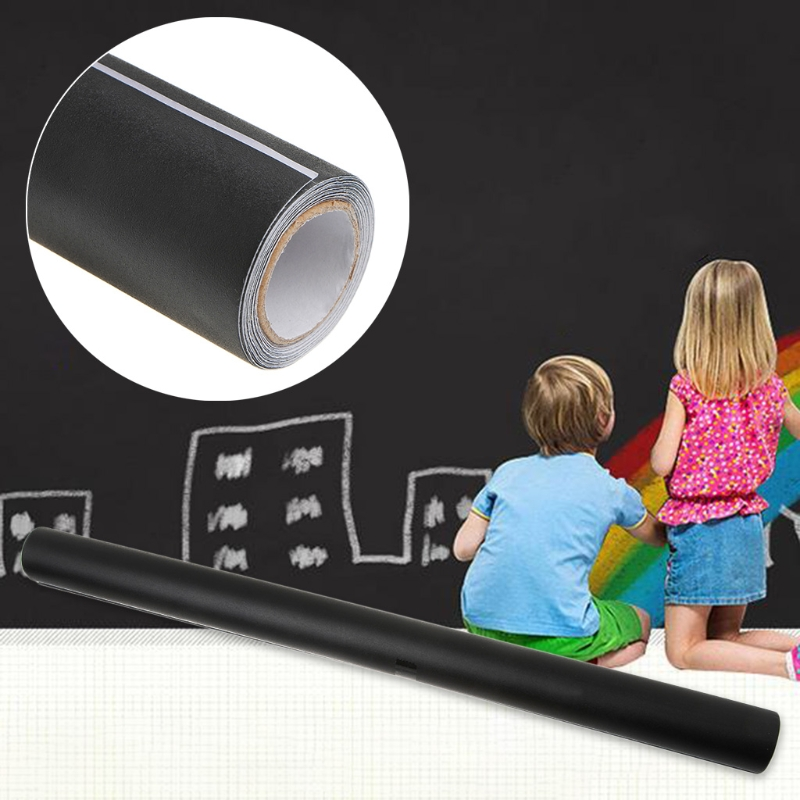 Creative Novelty 45*200 Cm Environmental Blackboard Chalk Board Sticker Wall Sticker For School And Office