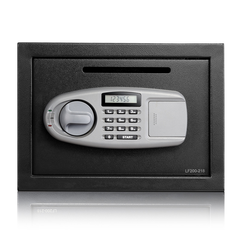 Customizable-Ann Lock Electronic Password Safety Box Wall 25 Cm Office Household Coin Safe Box