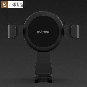 Image 1 - Автомобильный держатель держатель Youpin CARFOOK с датчиком гравитации, с G сенсором, многофункциональным держателем для телефона с одной рукой