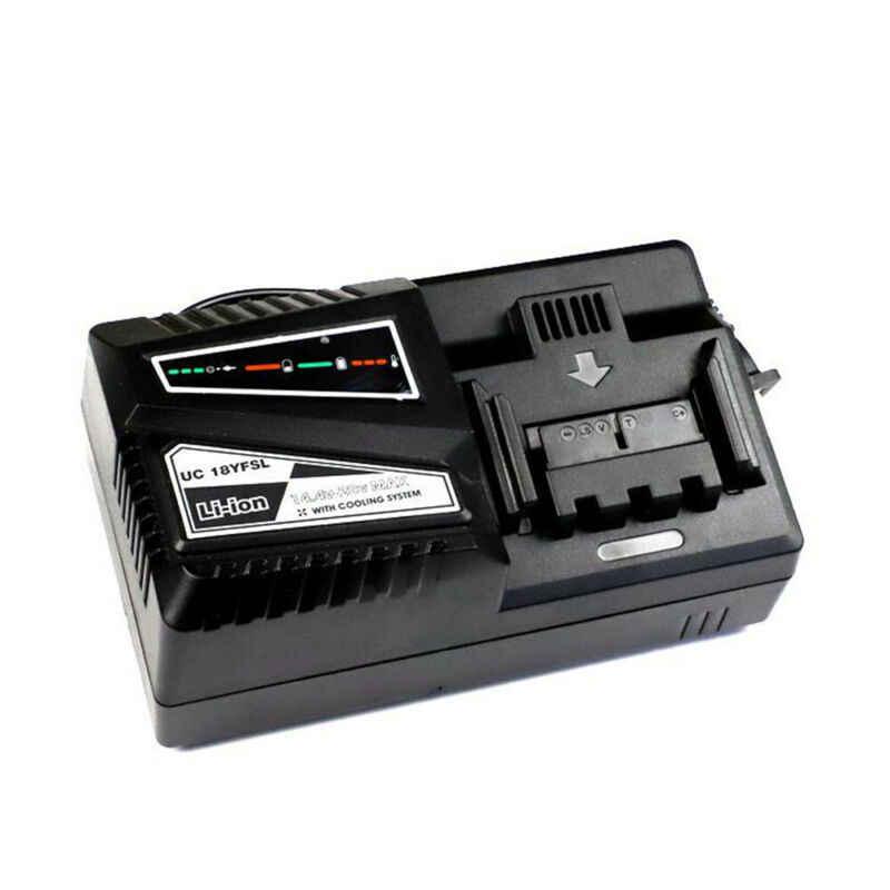 Hitachi UC18YKSL 14-18V литий-ионный аккумулятор зарядное устройство для UC18YRSL UC18YSL3 UC18YRL
