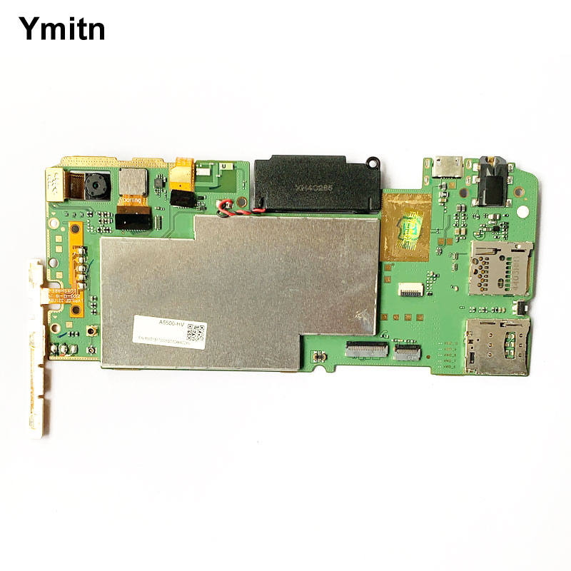 Ymitn Lectronic Panel Mainboard Motherboard Circuits With Firmware Boards For Lenovo Tablet A5500 A5500H A5500-HV 3G Version