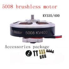Offre spéciale 6 pièces 5008 Kv400/kv335 moteur sans balais CW/CCW Rc Drone accessoires