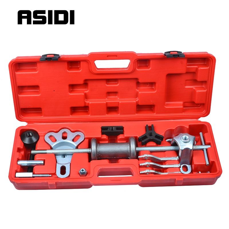 18pc Slide Hammer Dent Puller Oil Seal Bearing Extractor 2/3 Jaw External HD  PT1152