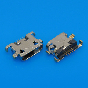 1pcs/lot Micro 5P USB jack for HUAWEI for Lenovo for zte D10 Sink Type USB Charging Charger Port Connector Dock Socket