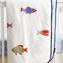 M& Mcoo Новое поступление хлопок Sahaler Boho детское одеяло детские пеленки для новорожденного стеганое одеяло для детской кроватки одеяло 34*42 дюймов(рыба