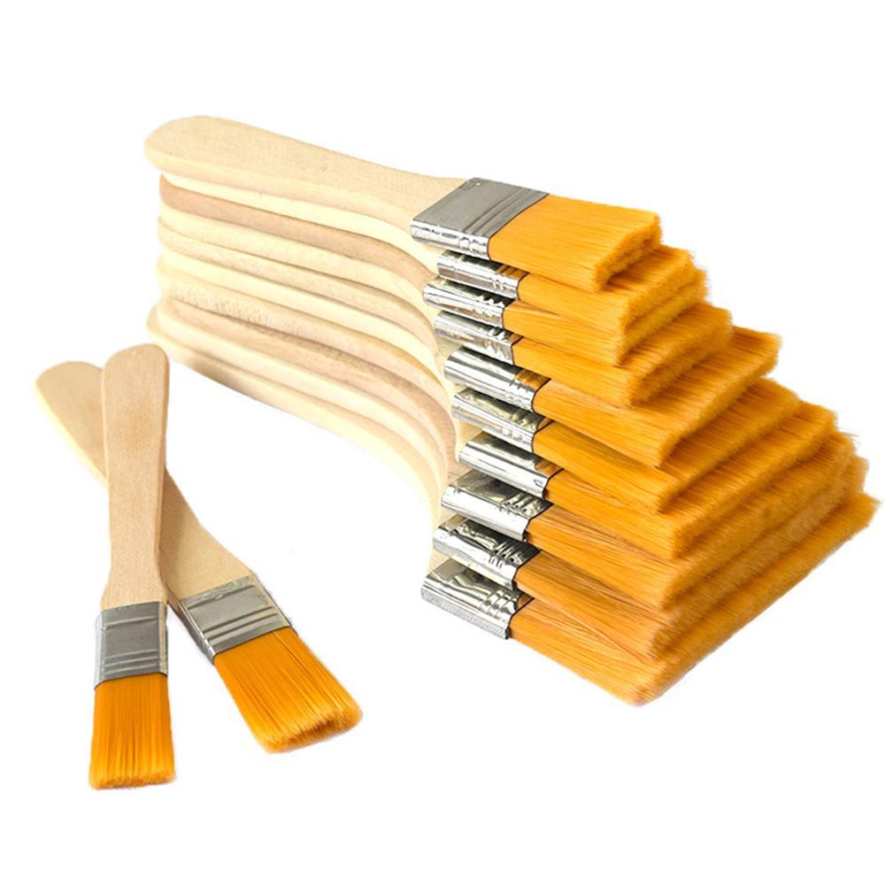 Pędzel es duży pędzel wielkoformatowy do malowania olejnego lakiery do plam kleje i narzędzia do czyszczenia chipów Gesso Home