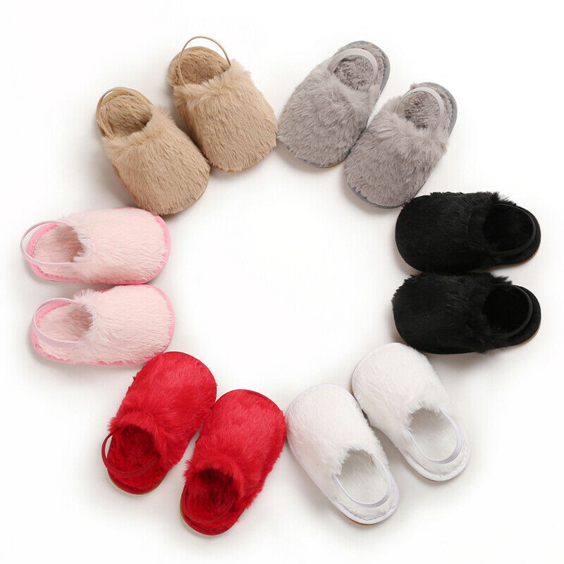 Summer Soft Classic Baby Girl Slipper Shoes Breathable Baby Fur First Walkers Shoes Simple Elastic Princess Baby Boys Shoes