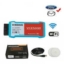 цена на VXDIAG VCX NANO Diagnostic Tool Fit for Ford & Mazda with IDS WIFI Version IDS V116 Automotivo Scanner J2534 PCM ABS Programming