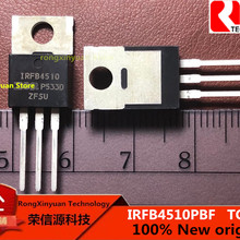 IRFB4510PBF IRFB4510 62A/100V TO-220 HEXFET®Силовой МОП-транзистор RDS(on) typ.10.7m Ω max.13.5m Ω